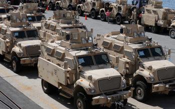 АҚШ «Ресеймен соғысу үшін» 900 вагон әскери техникасын Еуропаға жеткізді