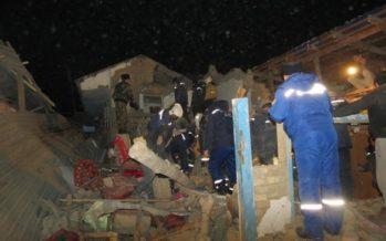 Шымкентте 2 қабатты тұрғын үй опырылып, бір адам қаза тапты (фото)