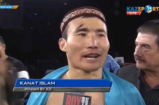 Қанат Ислам, Бокс, Спорт