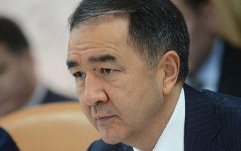Премьер-министр Сапарбаевты клондау керек деп мәлімдеді