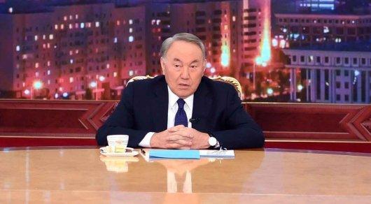 Елбасы Н. Назарбаев