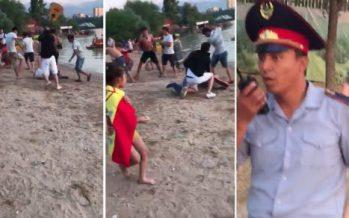Алматыдағы Сайранда жаппай төбелес болды (ВИДЕО)