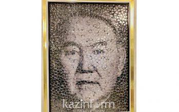 Америкалық суретші көзәйнек линзаларынан Елбасының портретін жасады