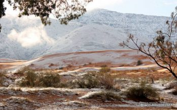 Әйгілі Сахара шөлінде қар жауды