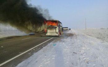 Өзбекстан тарапы автобус өрті кезінде көмектескен Қазақстанға алғыс айтты