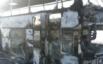 Күзетшілер Ақтөбеде өртенген автобуста аруақтар кезіп жүргенін айтады