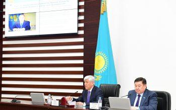 В Алматинской области состоялся актив по обсуждению 5 социальных инициатив Президента