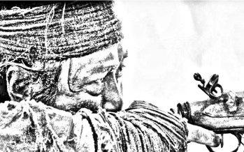 Зайсандық Әлібай мерген әйгілі Оспан батыр әскерінің шолғыншысы болған