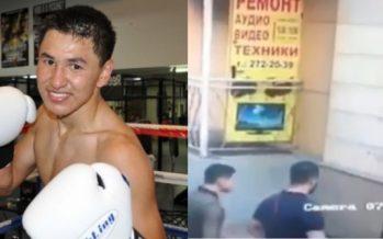 Алматыда болған атысқа қатысты боксшы Жанқош Тұраров түсініктеме берді