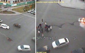 Олжас Сүлейменовтің немересі қаза тапқан жол апатының видеосы пайда болды