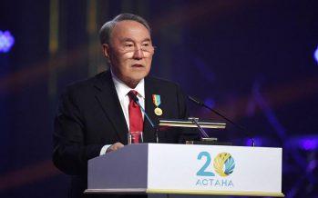 Назарбаев: Астана Едігеден Әз-Тәукеге дейінгі хандардың ордасы болған