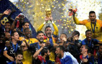 Франция футболдан екі дүркін Әлем чемпионы атанды
