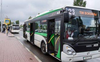 Астана автобустарында жаңа ережелер: жол ақысы 180 теңге және алдыңғы есік арқылы түсуге тыйым салынған