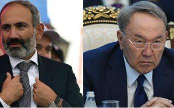 Назарбаев Никол Пашинянмен телефон арқылы сөйлесті