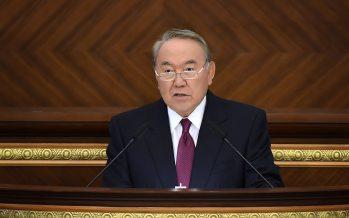 Нұрсұлтан Назарбаев Парламент палаталарының бірлескен отырысына қатысты