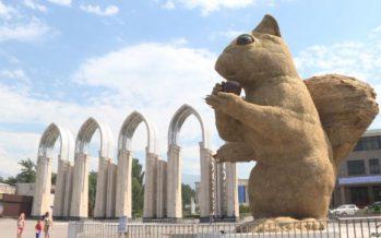 Алматыдағы тиін мүсіні Санкт-Петербургке көшірілуі мүмкін