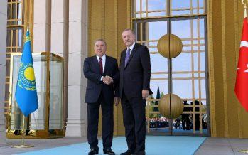 Нұрсұлтан Назарбаев Ердоғанмен кездесті