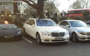 Әділ Қытайдан 3 Mercedes, Lamborghini, Maybach тәркіленді