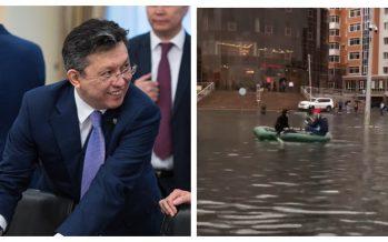 Астананың жаңа әкімі жаңбыр суымен күреске қыруар қаржы сұрап отыр