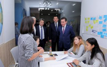 Махмұд Қасымбеков атыраулық студенттермен кездесті